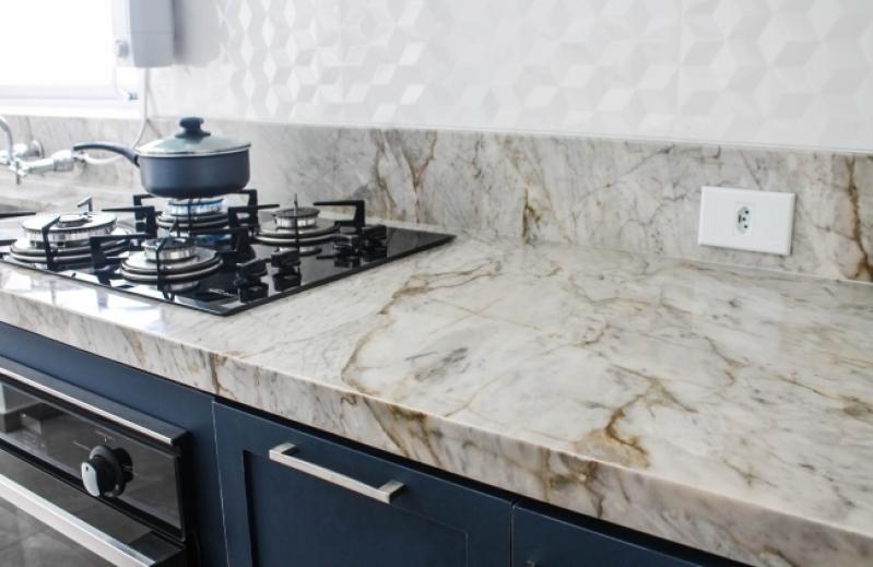 Bancada de Mármore Branco Cozinha Parque Ibirapuera - Bancada de Mármore para Banheiros Pequenos