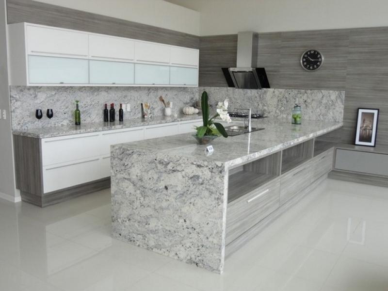 Bancada de Mármore Cozinha Preço Ibirapuera - Bancada de Mármore Branco Cozinha