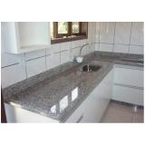 bancada de mármore cozinha americana Vila Albertina