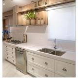 bancada granito cozinha americana Parque Anhembi