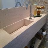 cuba esculpida banheiro valores Jardim Bonfiglioli