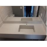 cuba esculpida banheiro Jardim Helian