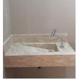 cuba de pedra para banheiro