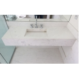empresa de bancada de mármore para banheiros pequenos Alto da Lapa