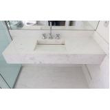 empresa de bancada de mármore para banheiros pequenos Vila Dila
