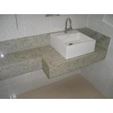 lavatório de mármore sintético