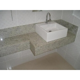 lavatórios em mármore branco Ipiranga