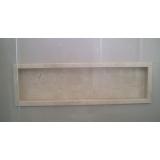 nicho de banheiro de mármore