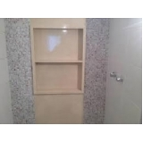 nicho de banheiro no box