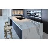 orçamento de bancada de mármore cozinha americana Santo Amaro