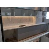 pia de cozinha quartzo branco preço Guaianazes