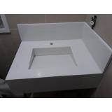 qual o preço de cuba com pedra para banheiro Cidade Dutra