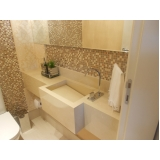 quanto custa cuba esculpida banheiro Brooklin