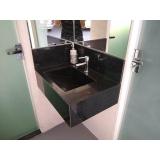 valor de lavatório em mármore sintético Pompéia
