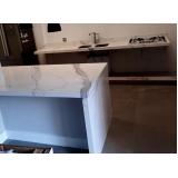 valor de pia de cozinha quartzo branco Ponte Rasa