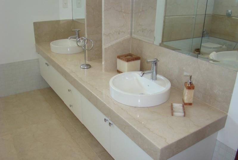 Valor de Lavatório em Mármore para Banheiro Pacaembu - Lavatório em Mármore Branco